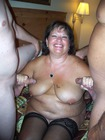 Happy Girl!. Can a girl really get too much cock?